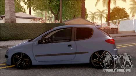 Peugeot 206 FR para GTA San Andreas