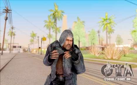 Mohammed do S. T. A. L. K. E. R. para GTA San Andreas sexta tela