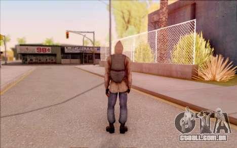 Degtyarev jaqueta de estreante do S. T. A. L. K. para GTA San Andreas por diante tela