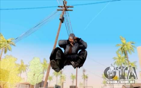 Mohammed do S. T. A. L. K. E. R. para GTA San Andreas quinto tela