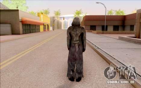 Um jovem de Porco, de S. T. A. L. K. E. R. para GTA San Andreas quinto tela