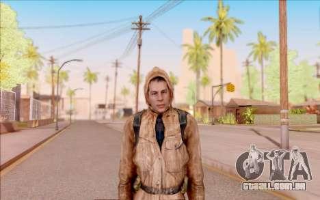 Degtyarev jaqueta de estreante do S. T. A. L. K. para GTA San Andreas