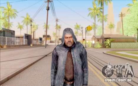 Mohammed do S. T. A. L. K. E. R. para GTA San Andreas segunda tela