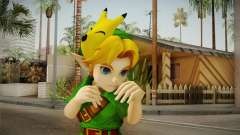 Hyrule Warriors - Young Link Skin para GTA San Andreas
