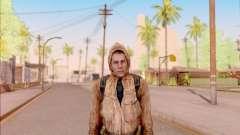 Degtyarev jaqueta de estreante do S. T. A. L. K. E. R. para GTA San Andreas