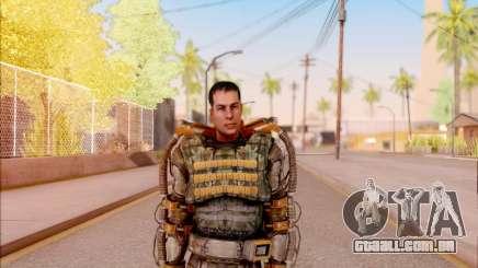 Degtyarev no exoesqueleto de Liberdade do S. T. A. L. K. E. R. para GTA San Andreas