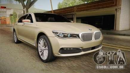 BMW 7-series G12 Long 2016 para GTA San Andreas