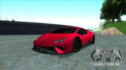 Lamborghini Huracan Performante 2018 para GTA San Andreas