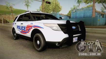 Ford Explorer 2013 Police para GTA San Andreas