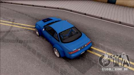 Nissan 200SX Rocket Bunny v2 para GTA San Andreas vista traseira