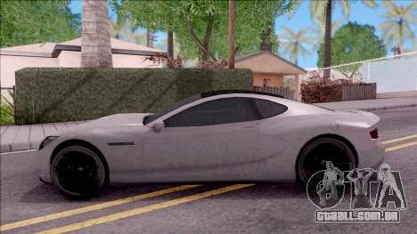 GTA V Hijak Khamelion para GTA San Andreas esquerda vista