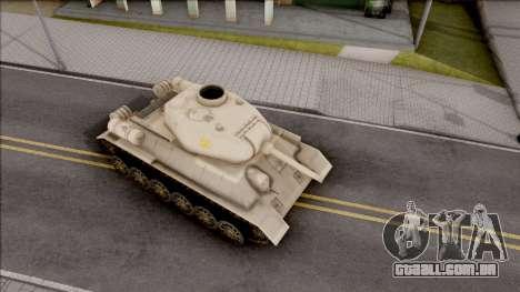 T-34 Z para GTA San Andreas vista direita