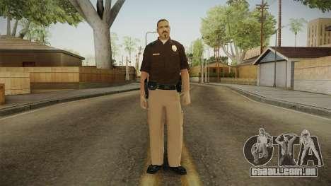 Iowa State Patrol Trooper Skin para GTA San Andreas segunda tela