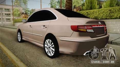 Hyundai Azera para GTA San Andreas