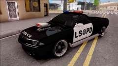 Nissan Skyline R32 Pickup Police LSPD para GTA San Andreas