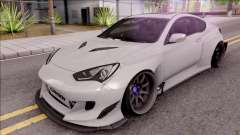 Hyundai Genesis Coupe 3.8 2013 Rocket Bunny para GTA San Andreas