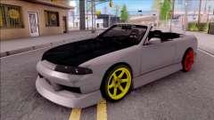 Nissan Skyline R33 Cabrio Drift Monster Energy para GTA San Andreas