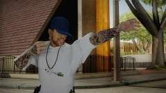 New Thug Skin para GTA San Andreas