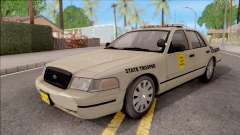 Ford Crown Victoria 2005 Iowa State Patrol para GTA San Andreas