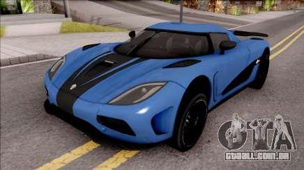 Koenigsegg Agera R Origin para GTA San Andreas