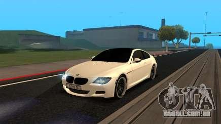 BMW M6 E63 Armenian para GTA San Andreas
