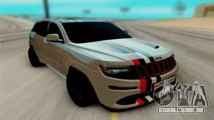 Jeep Grand Cherokee SRT para GTA San Andreas