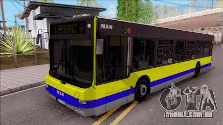 MAN Lions City GSP BEOGRAD para GTA San Andreas