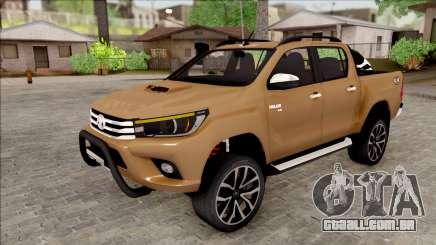 Toyota Hilux 2017 para GTA San Andreas