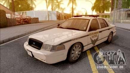 Ford Crown Victoria 2010 OS Highway Patrol para GTA San Andreas
