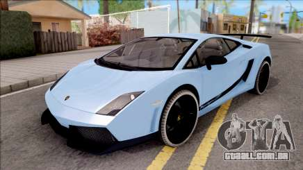 Lamborghini Gallardo Superleggera LP 570-4 para GTA San Andreas
