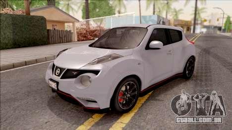 Nissan Juke Nismo RS 2014 v2 para GTA San Andreas