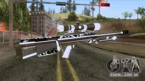 De Armas Cebras - Sniper Rifle para GTA San Andreas segunda tela