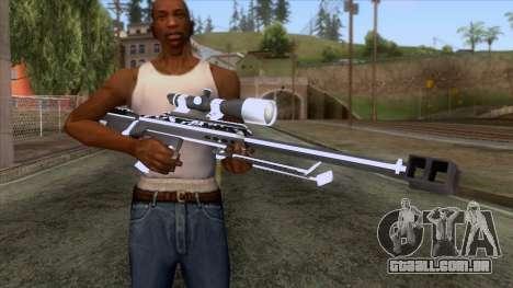 De Armas Cebras - Sniper Rifle para GTA San Andreas terceira tela