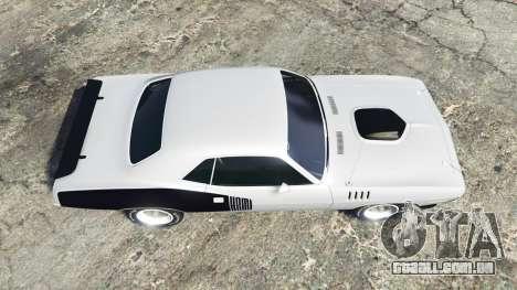 GTA 5 Playmouth Hemi Cuda (BS) 1971 [replace] voltar vista