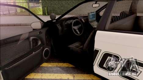 GTA V Karin Kuruma Interceptor para GTA San Andreas