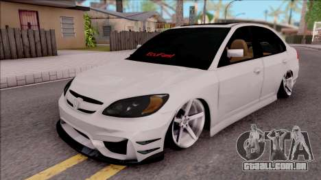 Honda Civic E.K MODS para GTA San Andreas