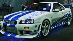 Nissan Skyline GT-R34 3.0