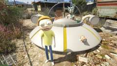 Morty Smith (Rick and Morty) [Add-On] 1.1 para GTA 5