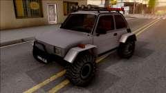 Fiat 126p Buggy para GTA San Andreas