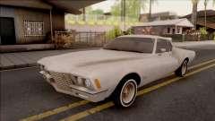 Buick Riviera 1972 Boattail Lowrider Gray