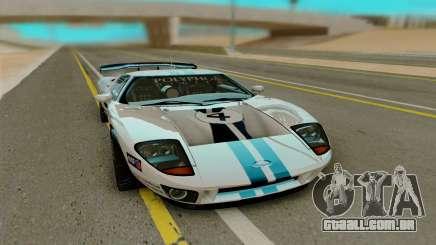 Ford GT LM Gran Turismo para GTA San Andreas
