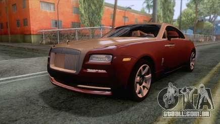 Rolls-Royce Wraith 2014 Coupe para GTA San Andreas