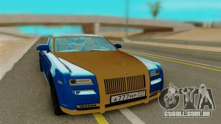 Rolls Roys Ghost para GTA San Andreas