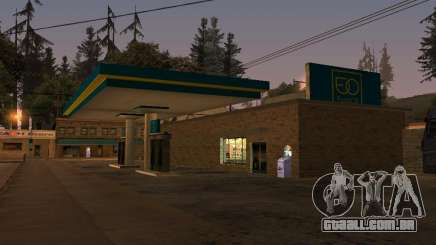 EuroOil Gas Station para GTA San Andreas