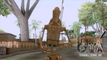 Star Wars - Battle Droid Skin para GTA San Andreas