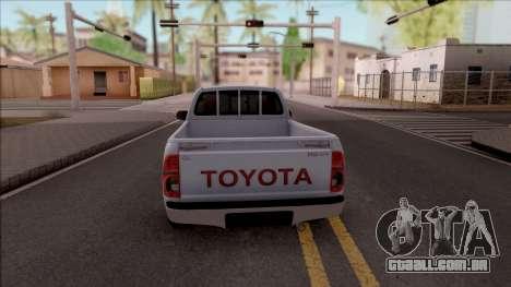 Toyota Hilux 2 Door GLX 2013 para GTA San Andreas