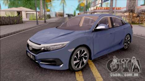 Honda Civic FC5 Low Poly with Led Lights para GTA San Andreas