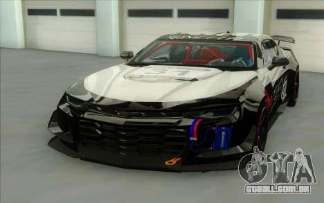 Chevrolet Camaro ZL 1 para GTA San Andreas