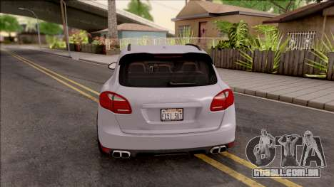Porsche Cayenne Turbo 2013 MTA Version para GTA San Andreas