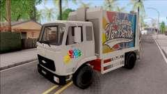 FAP MBKT Terengganu City Garbage Compactor Truck para GTA San Andreas